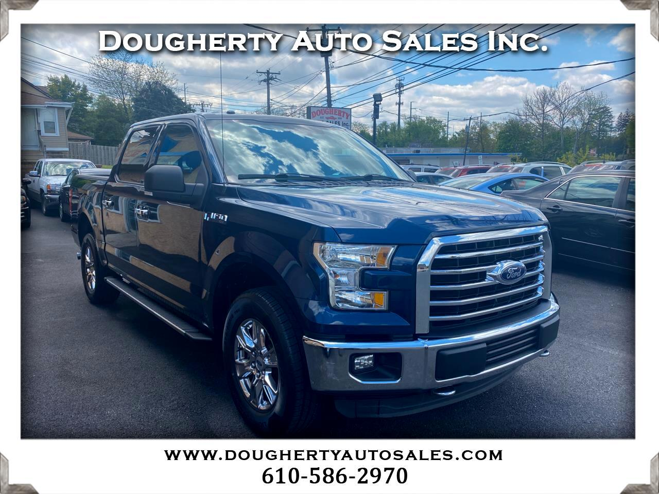 "Ford F-150 4WD SuperCab 145"" XLT 2015"