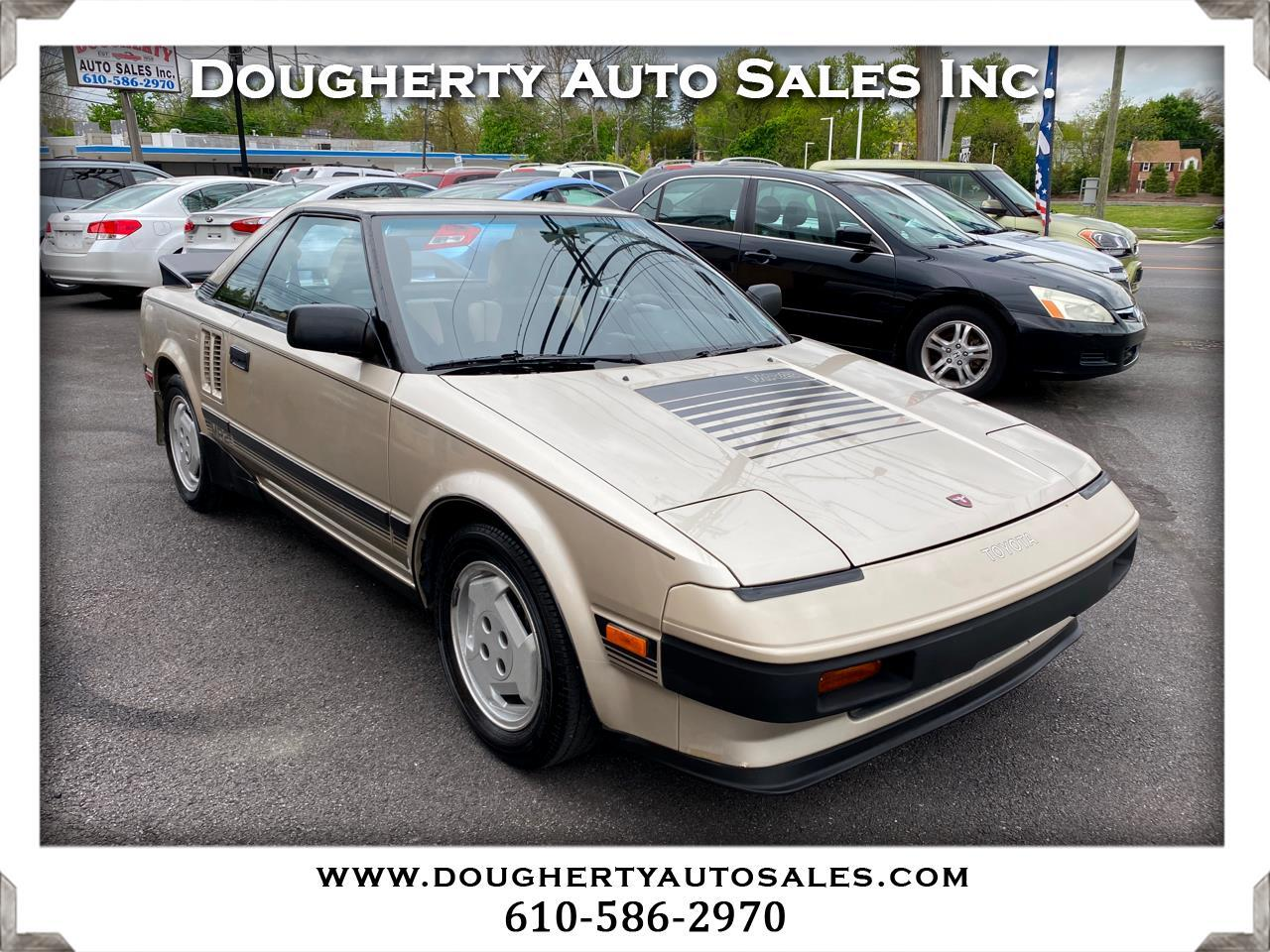 Toyota MR2 2dr Coupe 5-Spd 1985