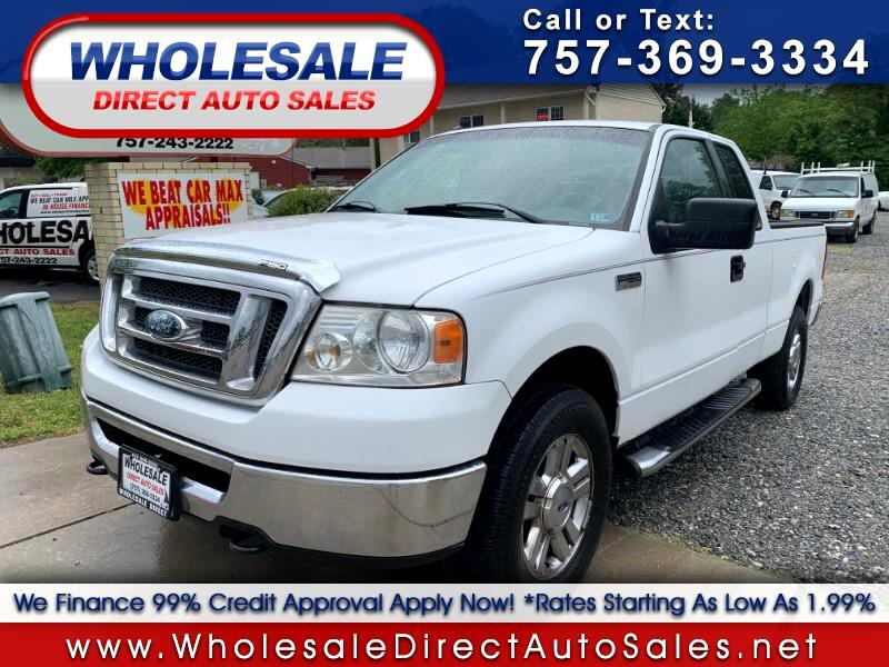 2008 Ford F-150 4wd