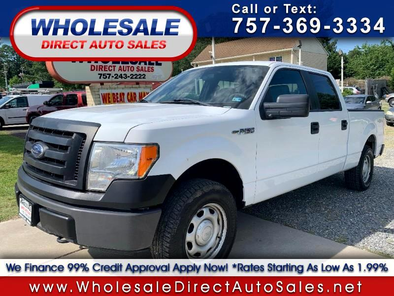 2012 Ford F-150 4wd Supercrew