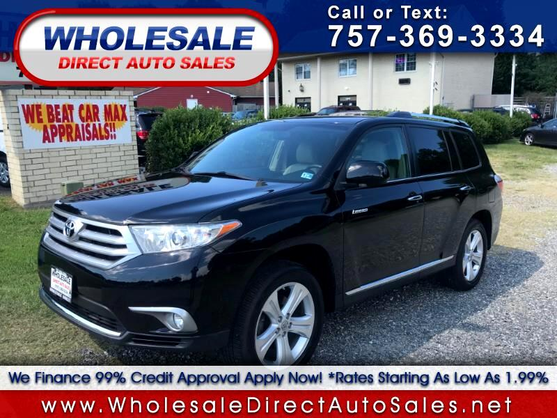 2013 Toyota Highlander awd 4dr Limited