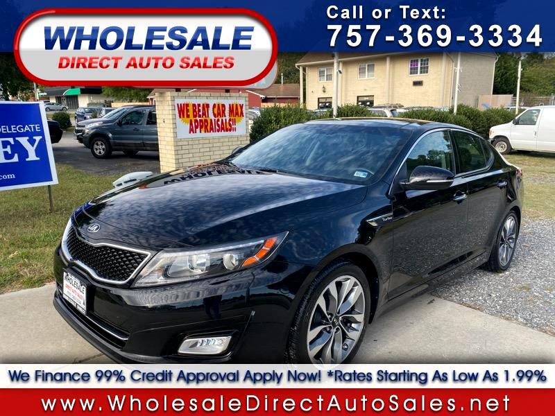 Kia Optima 4dr Sdn SX Turbo 2014