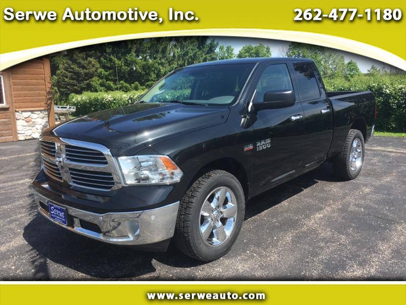 "2015 RAM 1500 Big Horn 4x4 Quad Cab 6'4"" Box"