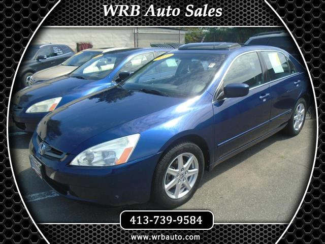 Used 2003 Honda Accord For Sale In West Springfield, MA 01089 WRB Auto Sales