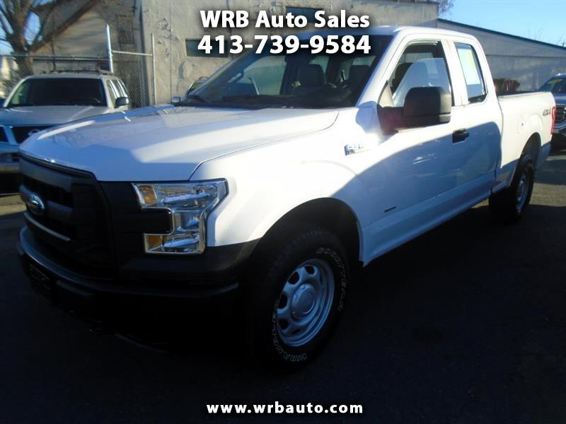 2015 Ford F-150 XL SuperCab 8-ft. Bed 4WD