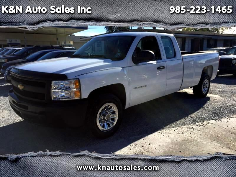 2011 Chevrolet Silverado 1500 Work Truck Ext. Cab Long Box 2WD
