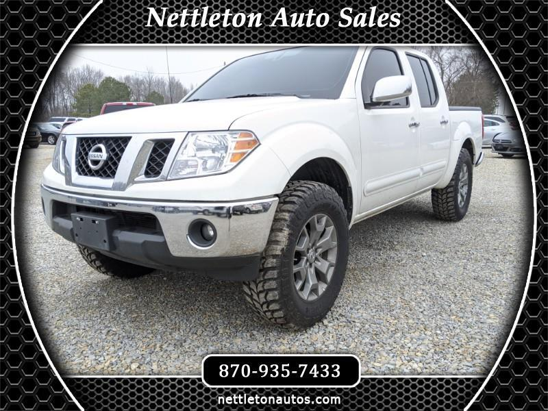 Nissan Frontier SL Crew Cab 5AT 4WD 2019
