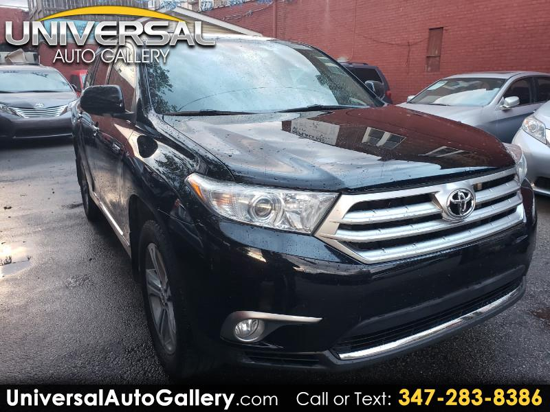 Toyota Highlander Limited 4WD 2012
