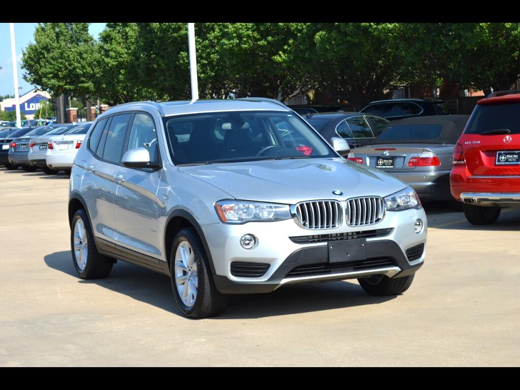 2017 BMW X3 sDrive28i Sports Activity Vehicle