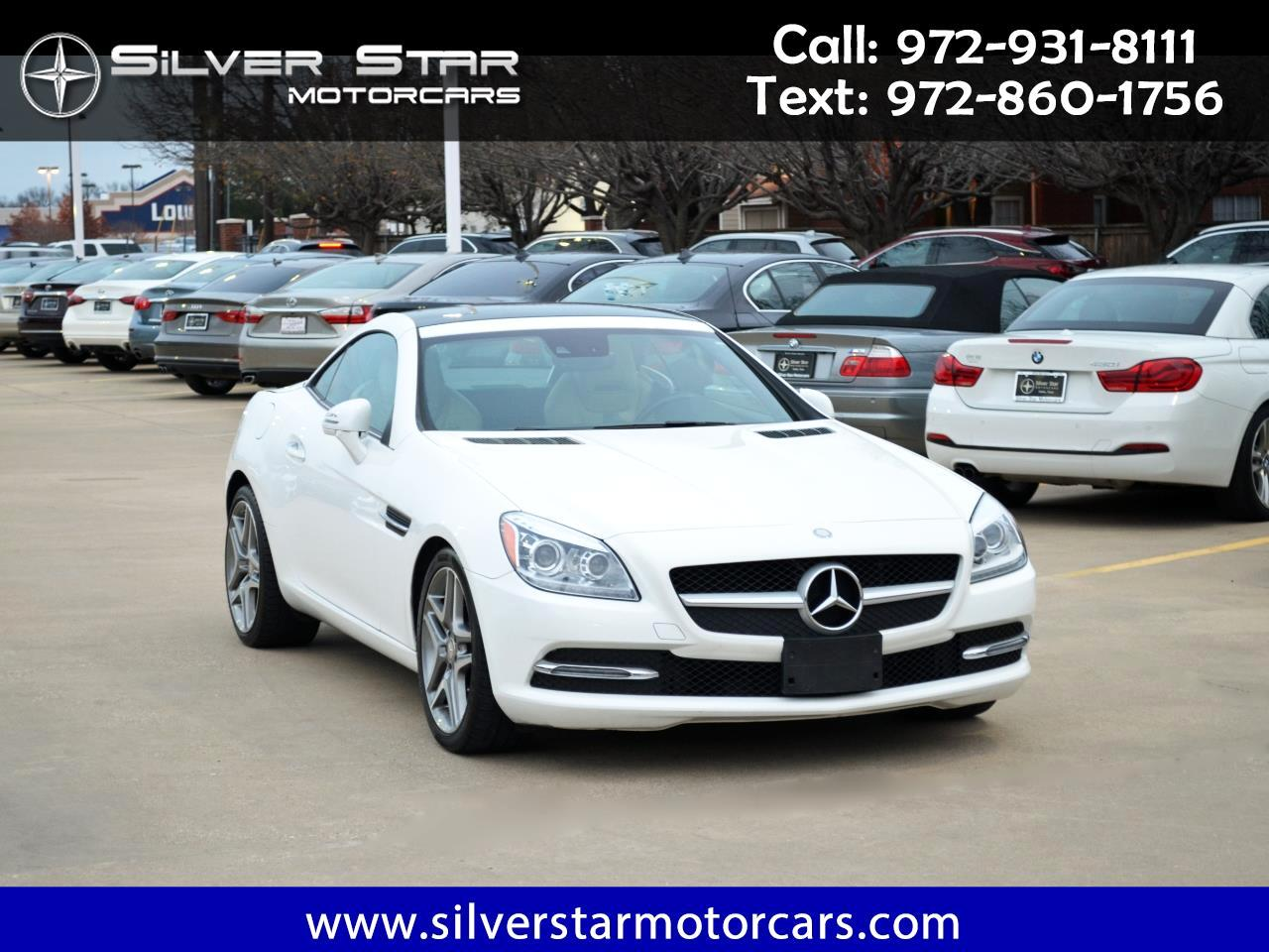 2016 Mercedes-Benz SLK 2dr Roadster SLK 300