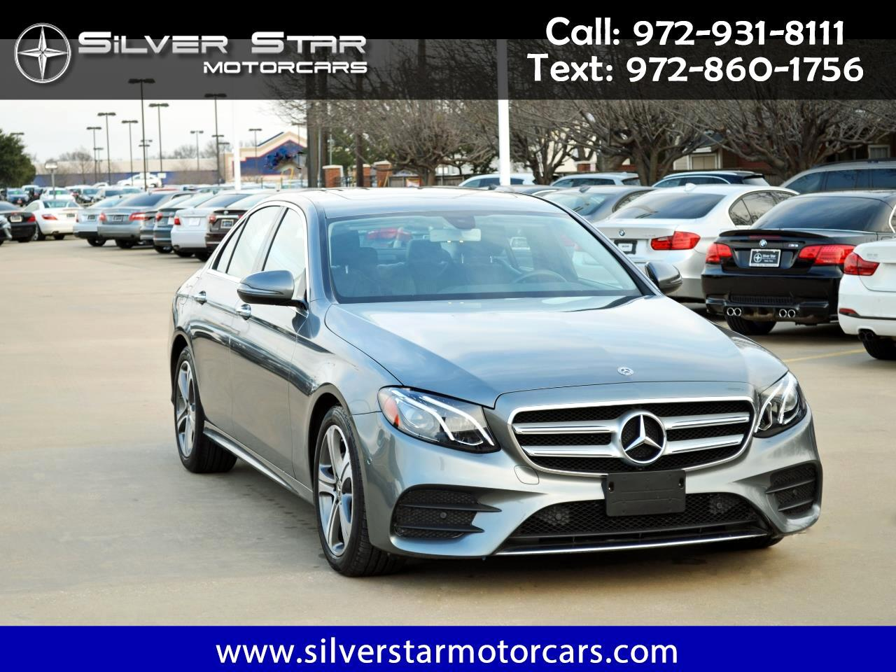 2018 Mercedes-Benz E-Class E 300 RWD Sedan