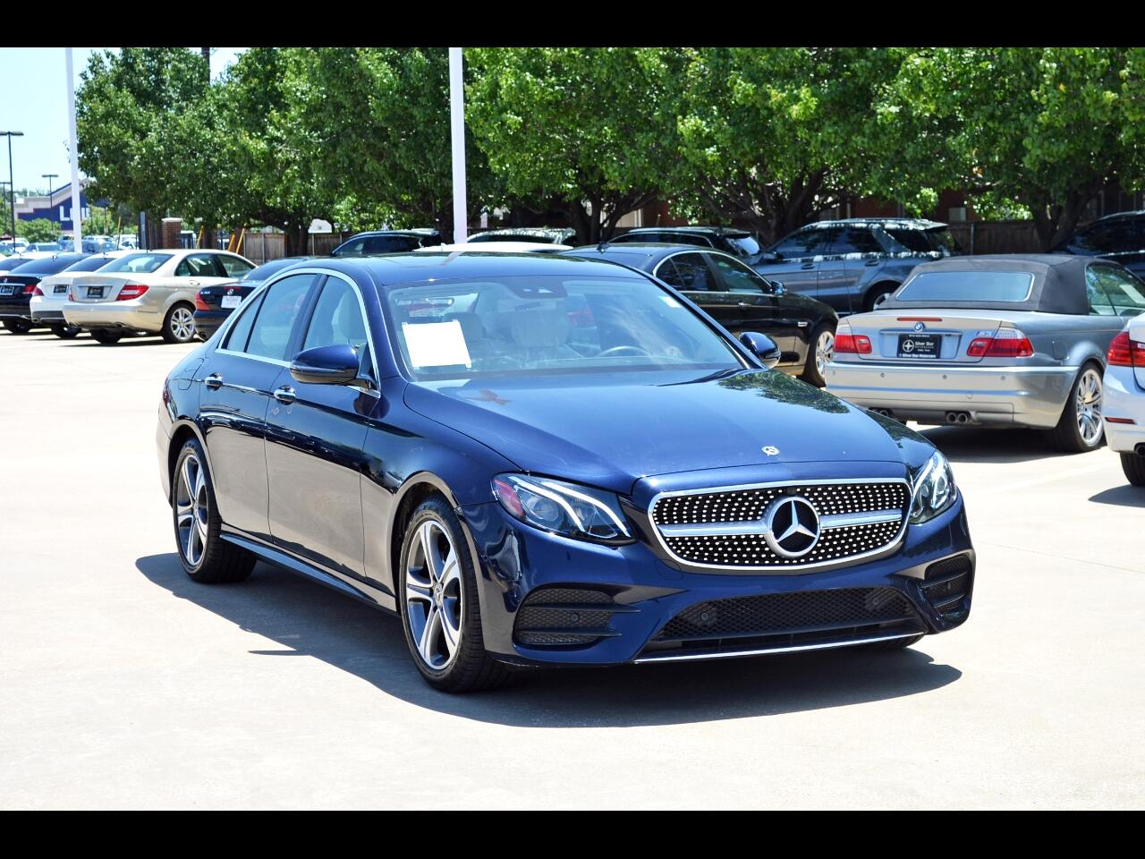 Mercedes-Benz E-Class E 300 RWD Sedan 2018