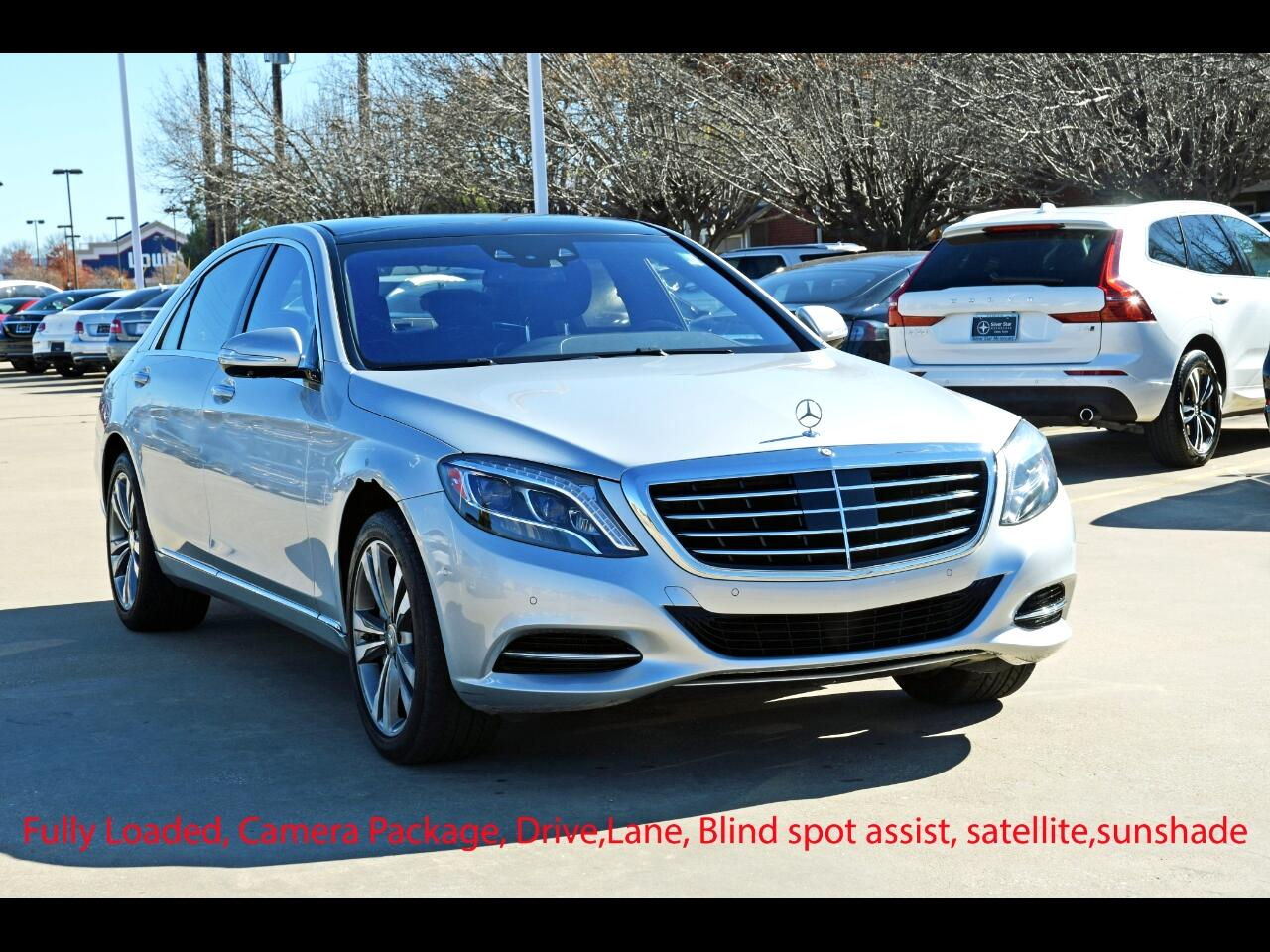 Mercedes-Benz S-Class 4dr Sdn S 550 RWD 2016
