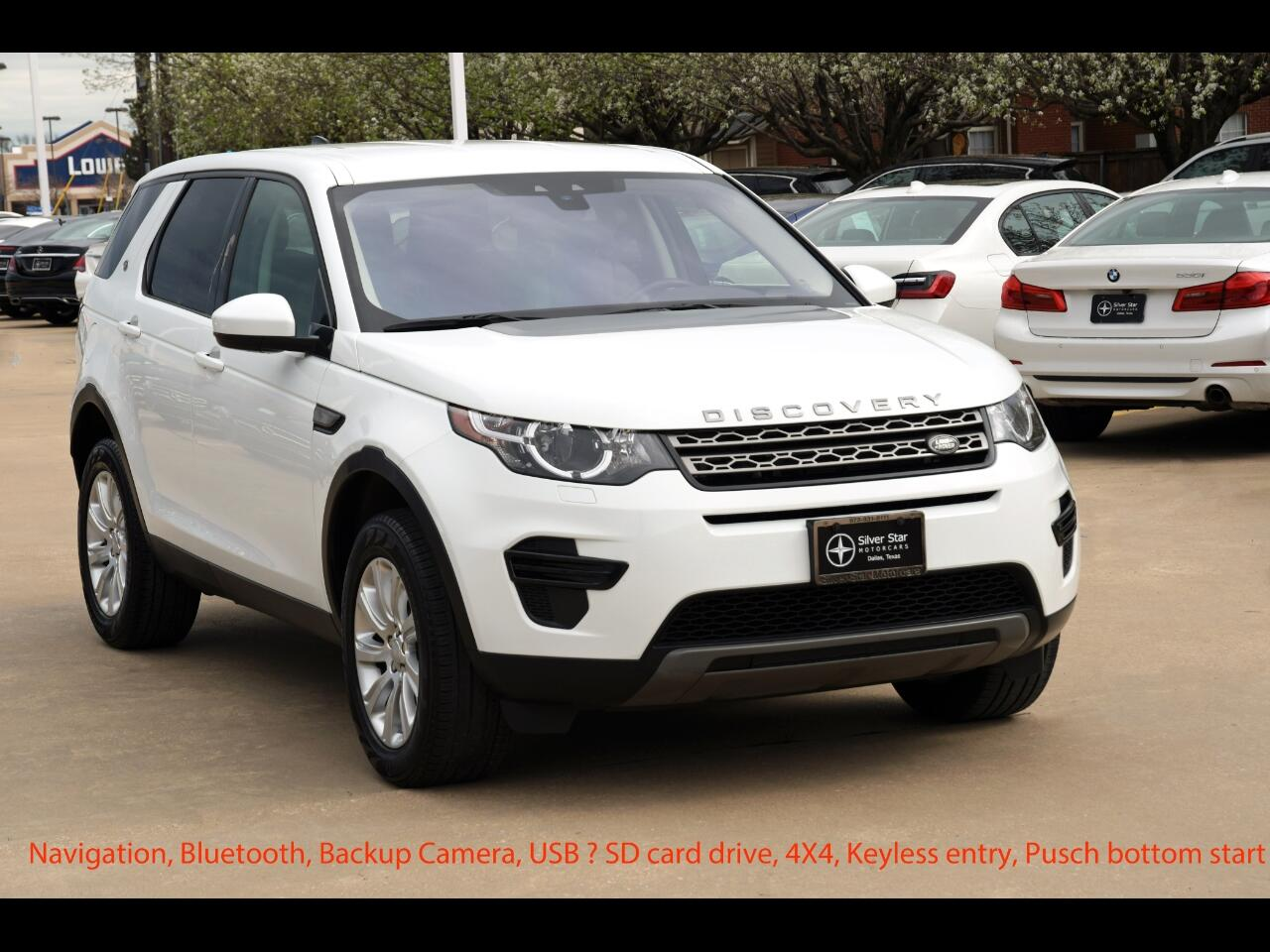 Land Rover Discovery Sport SE 4WD 2018