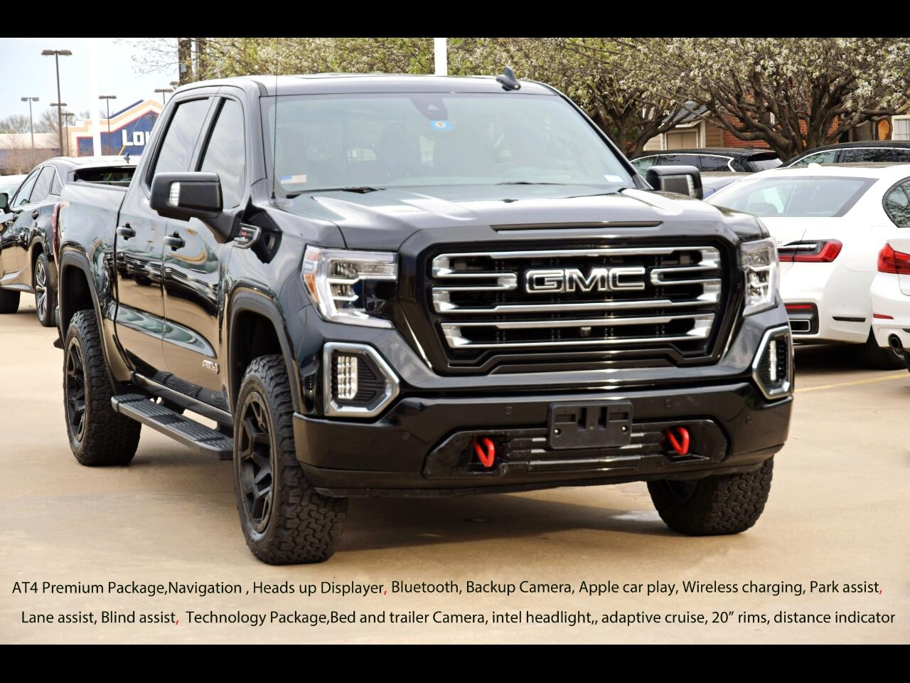 "GMC Sierra 1500 4WD Crew Cab 147"" AT4 2020"