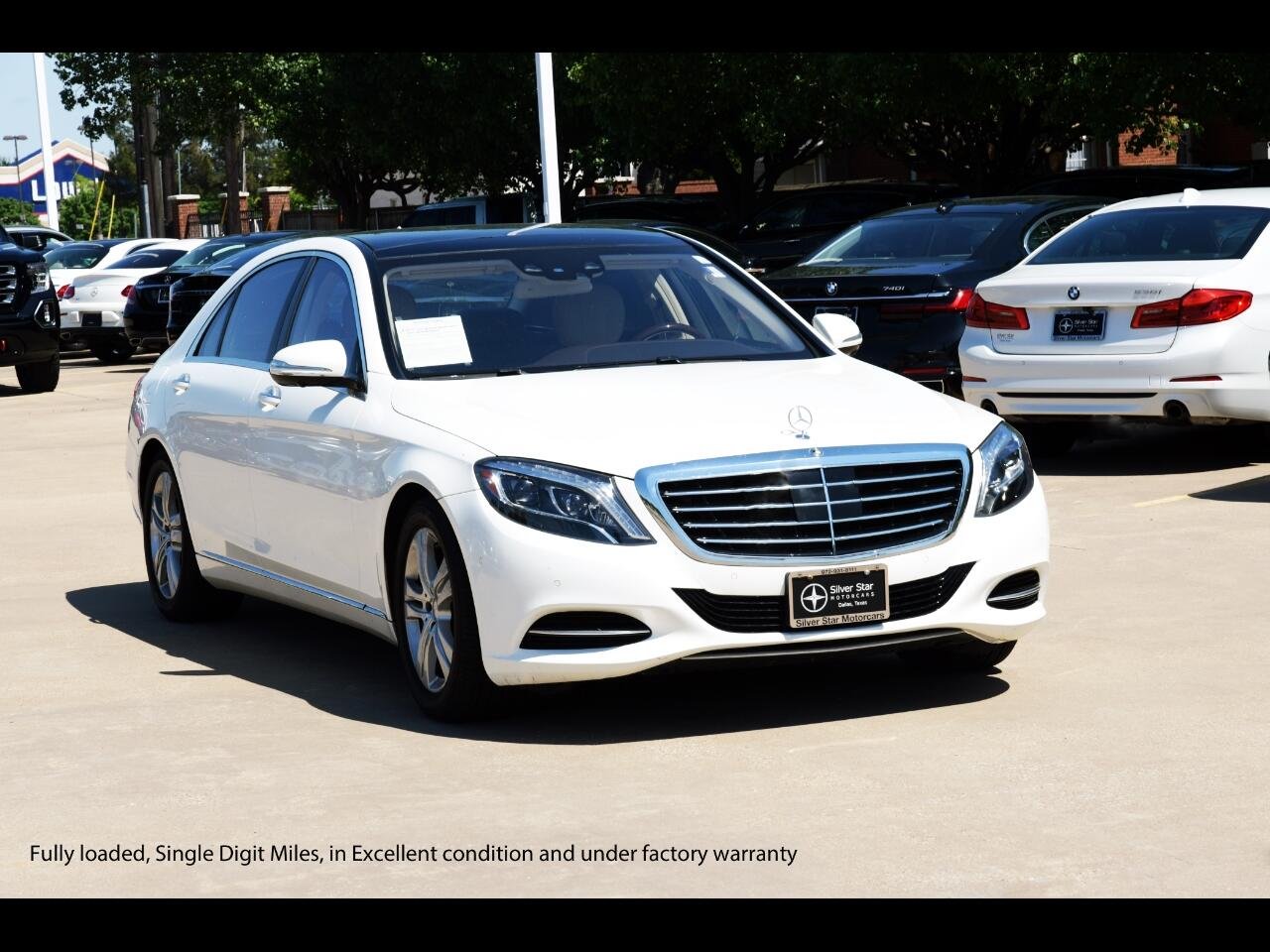 Mercedes-Benz S-Class S 550 Sedan 2017