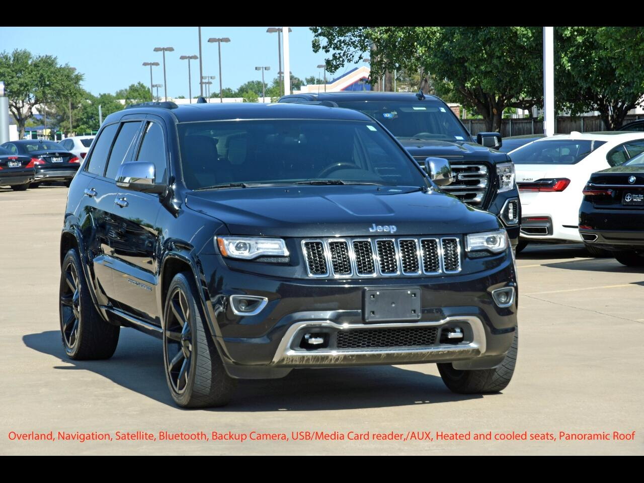 Jeep Grand Cherokee RWD 4dr Overland 2014