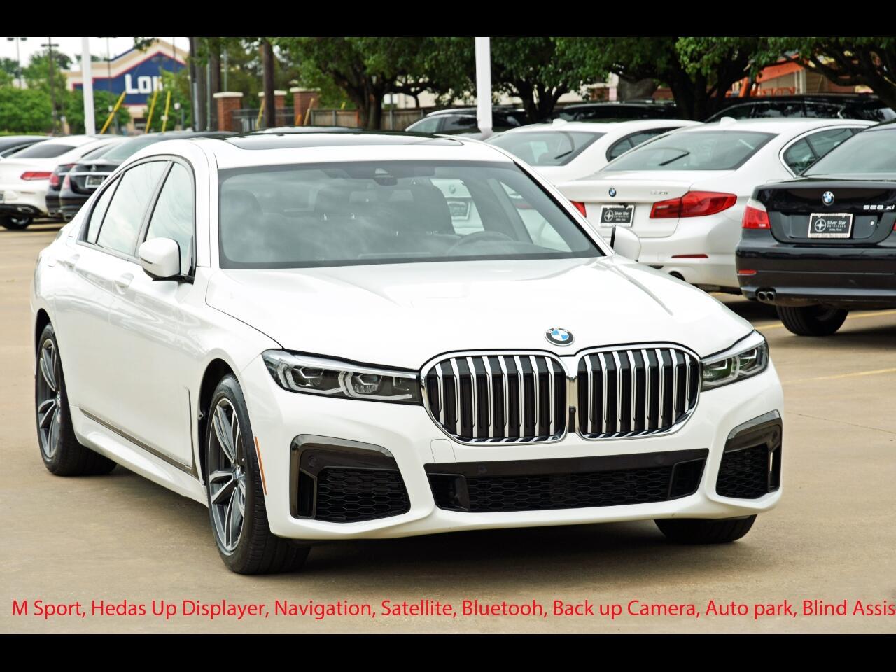 BMW 7 Series 740i Sedan 2020