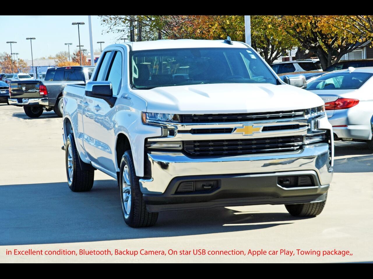 """Chevrolet Silverado 1500 4WD Double Cab 147"""" LT 2020"""