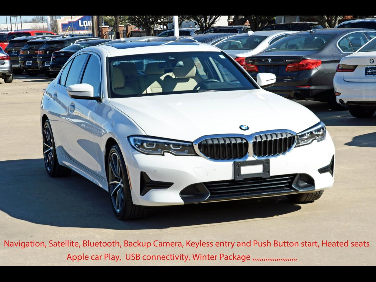 BMW 3 Series 330i Sedan North America 2020