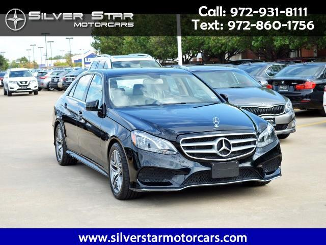 2016 Mercedes-Benz E-Class E250 Luxury BlueTEC Sedan