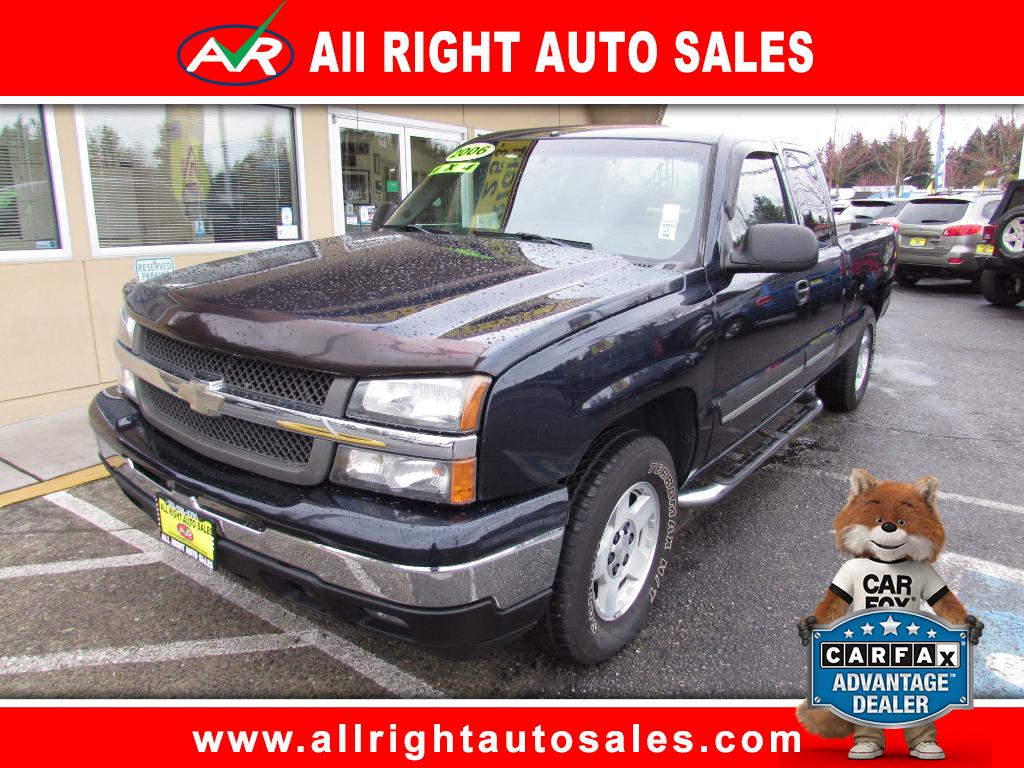2006 Chevrolet Silverado 1500 LT2 Ext. Cab Short Bed 4WD
