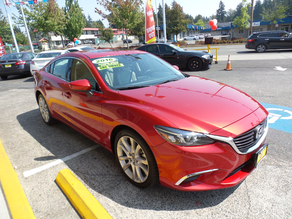 used 2016 mazda mazda6 i touring plus for sale in federal way wa 98003 all right auto sales. Black Bedroom Furniture Sets. Home Design Ideas