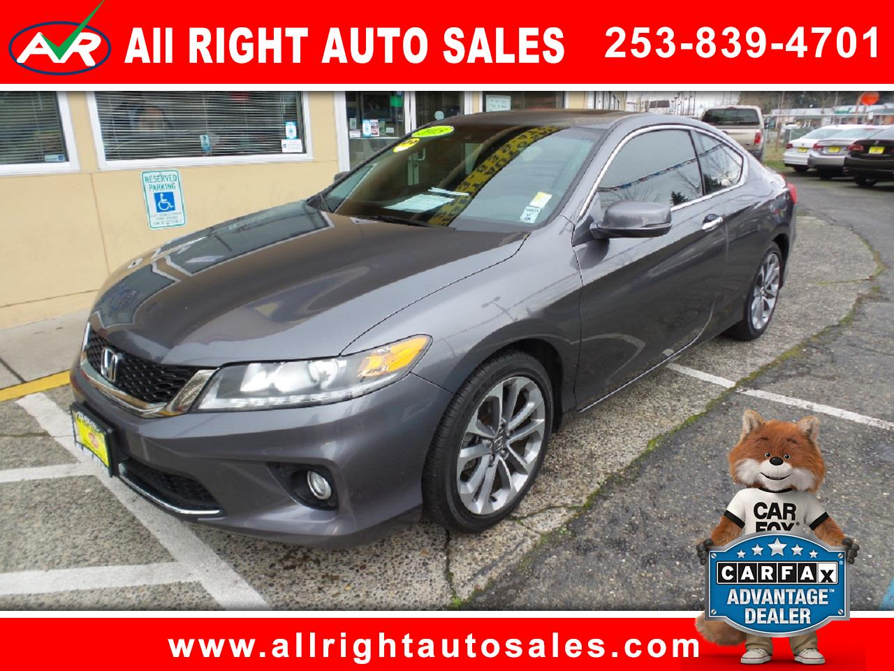 2013 Honda Accord EX-L V6 Coupe AT