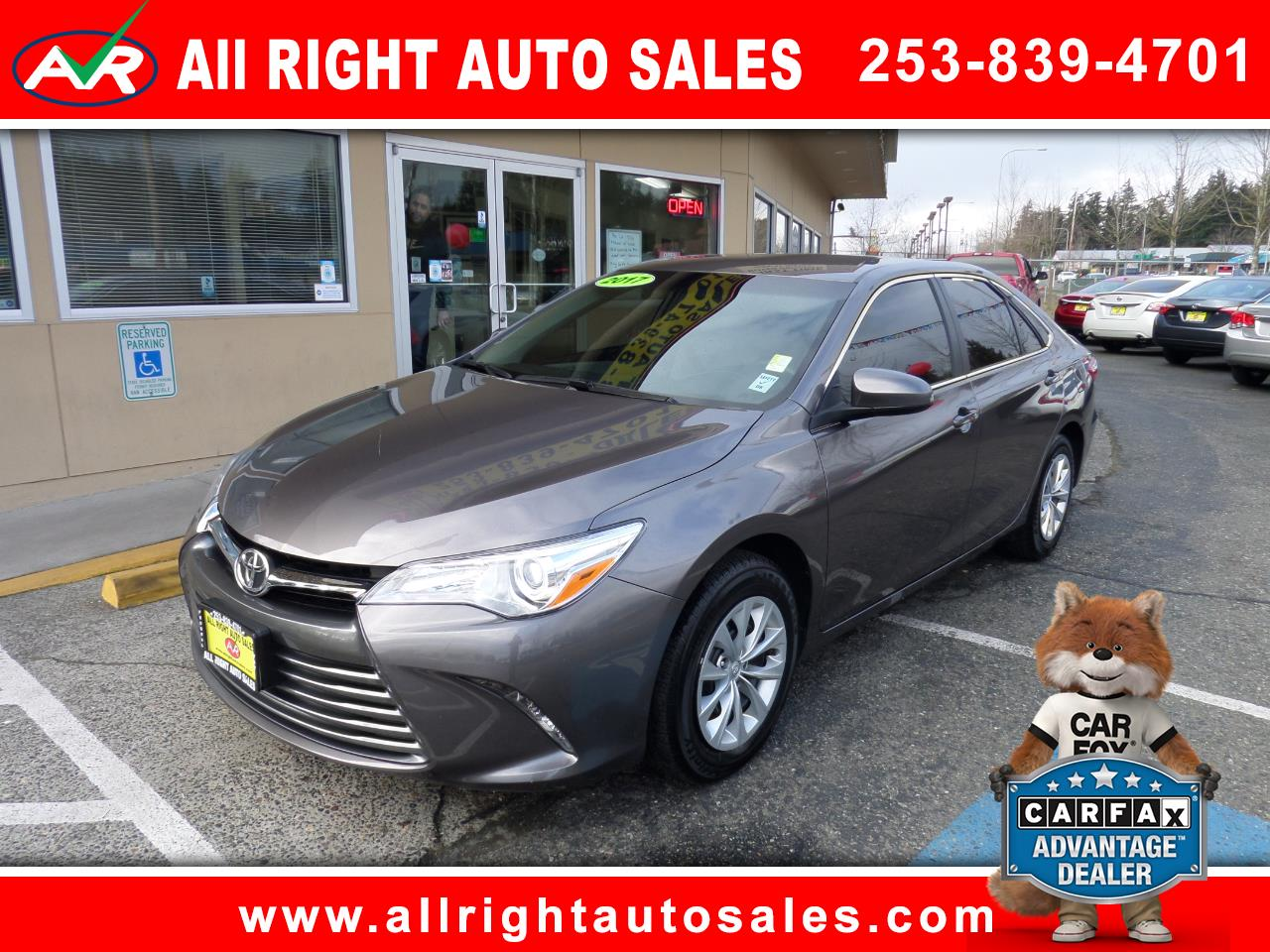 2017 Toyota Camry LE 5-Spd AT