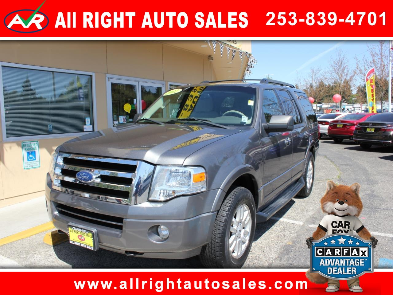 2012 Ford Expedition XLT 4WD