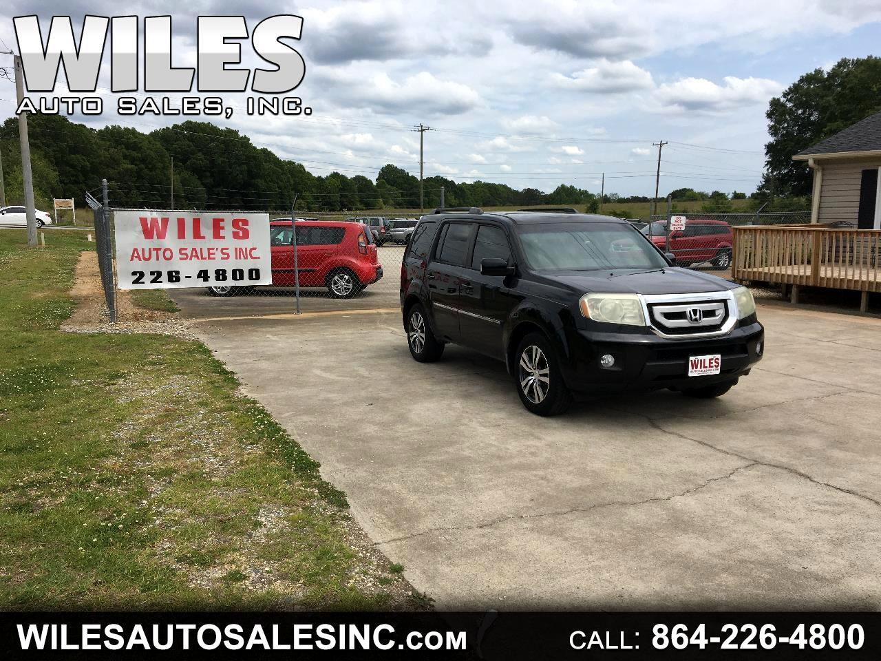 Honda Pilot Touring 2WD 5-Spd AT with DVD 2010