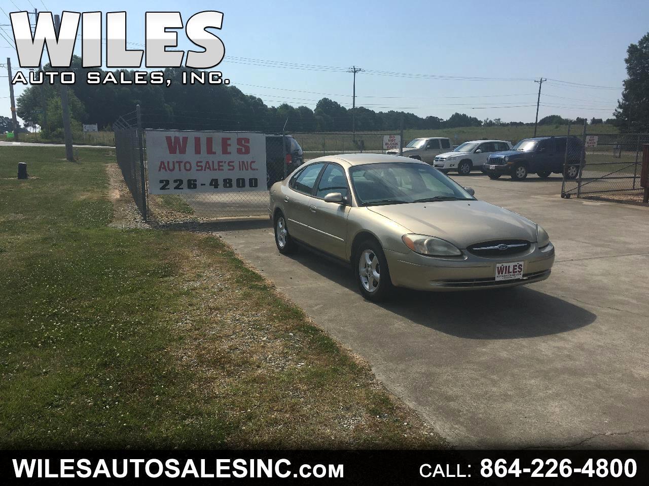 Ford Taurus SES 2001