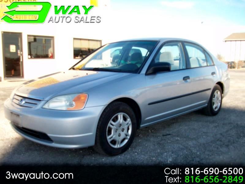 Honda Civic DX Sedan 2001