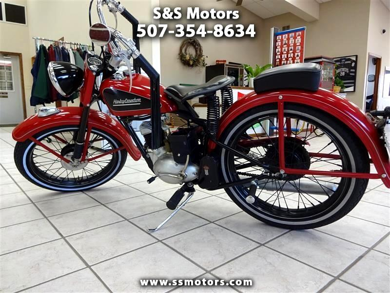 Harley-Davidson 165 Hummer  1953