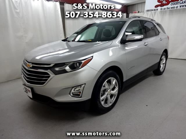 used 2018 chevrolet equinox premier for sale in courtland mn 56021 s s motors. Black Bedroom Furniture Sets. Home Design Ideas