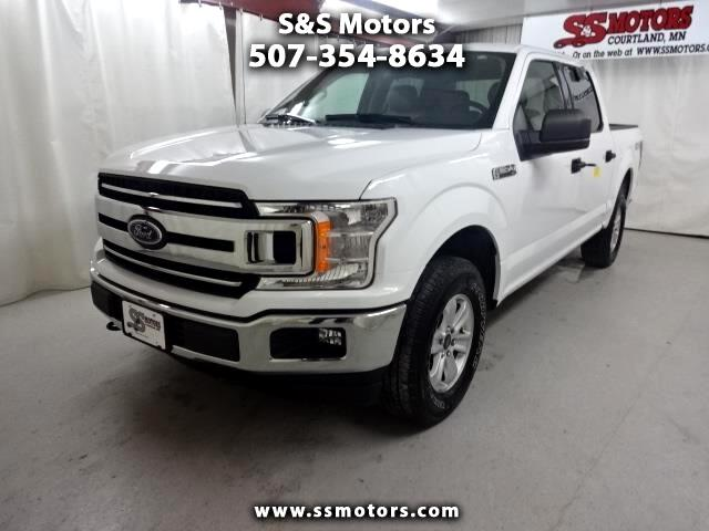 2018 Ford 150 XLT SuperCrew 5.5-ft. Bed 4WD