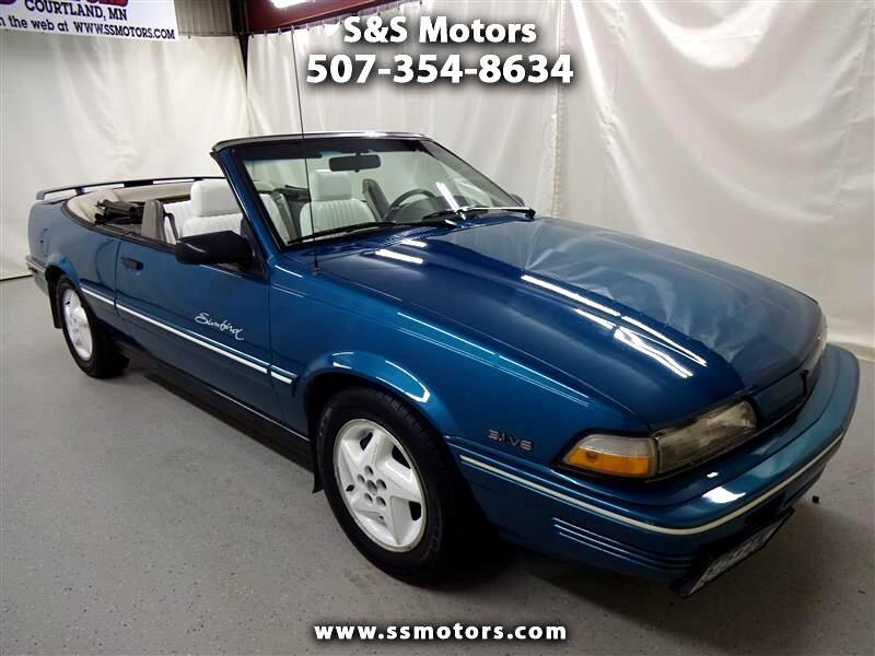 Pontiac Sunbird SE Convertible 1993