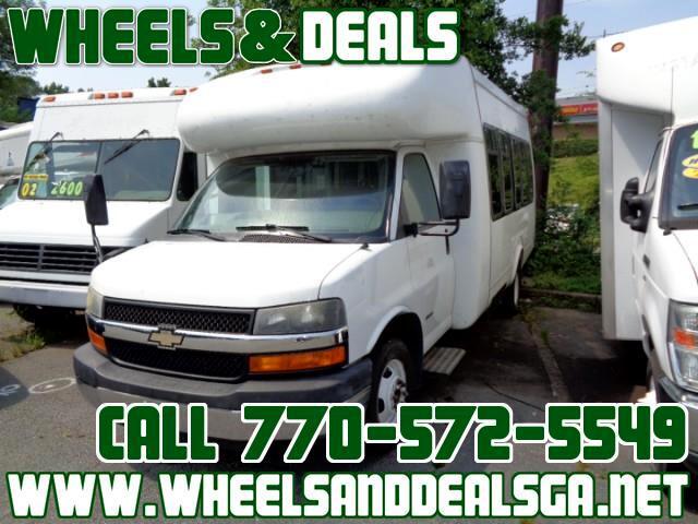 2012 Chevrolet 9 Passenger Conversion Van