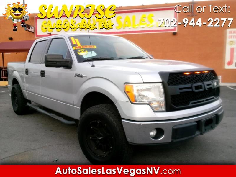 "2011 Ford F-150 Supercab 139"" XLT"
