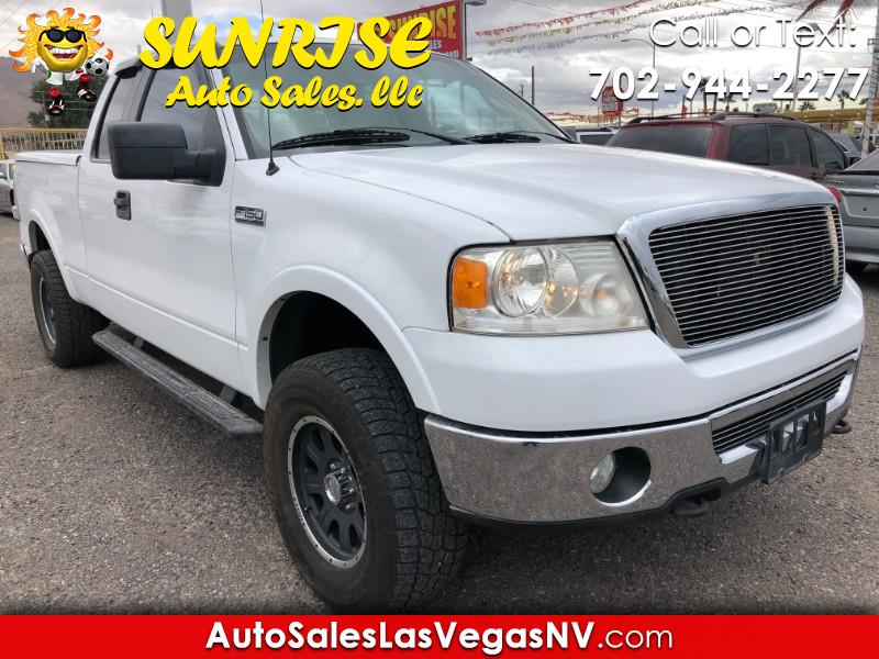 2006 Ford F-150 Lariat SuperCab 5.5-ft 4WD
