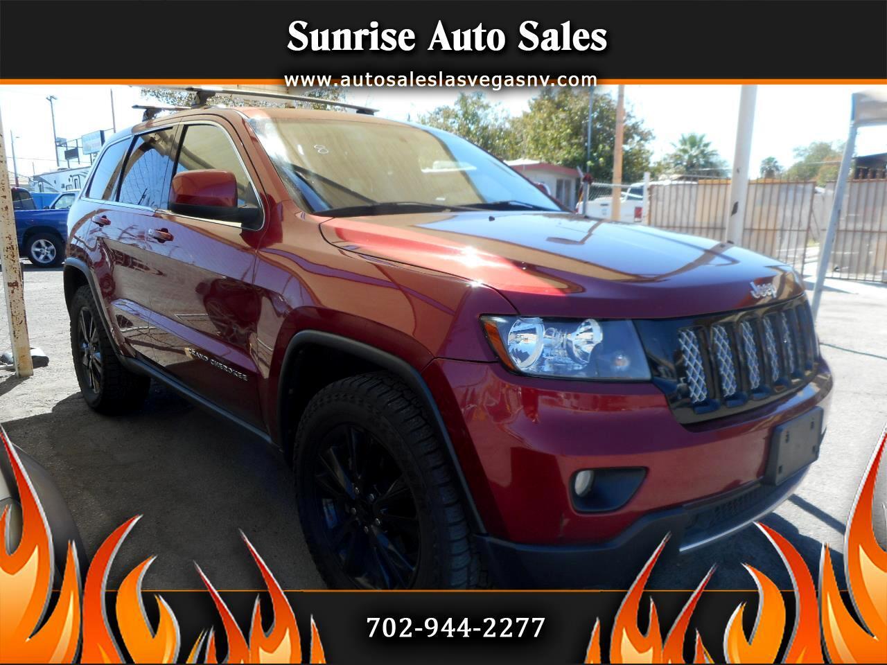 Jeep Grand Cherokee 4WD 4dr Laredo Altitude 2012