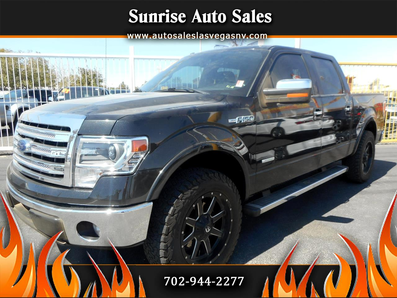 "Ford F-150 2WD Supercab 133"" Lariat 2014"