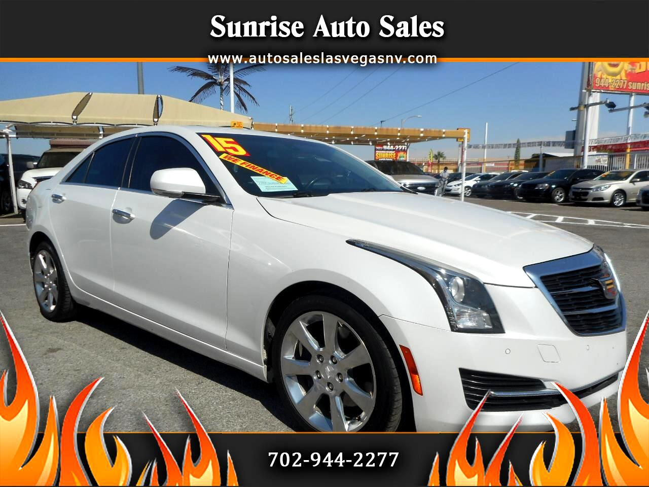 Cadillac ATS Sedan 4dr Sdn 2.0L Luxury RWD 2015