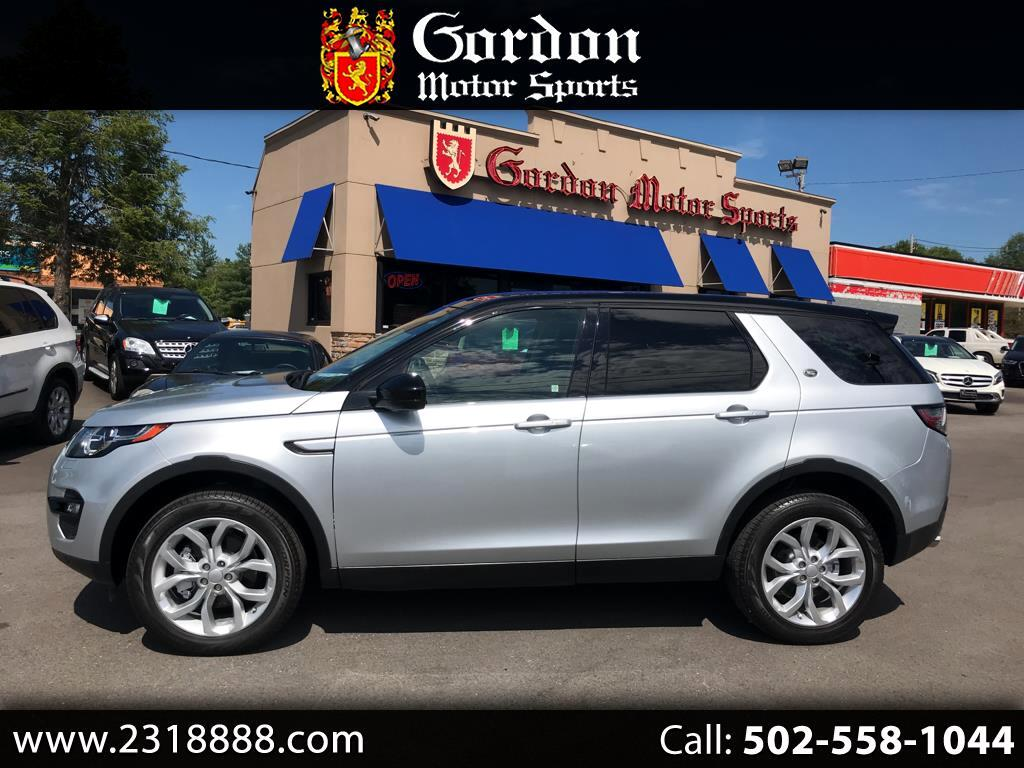 2015 Land Rover Discovery Sport AWD 4dr HSE