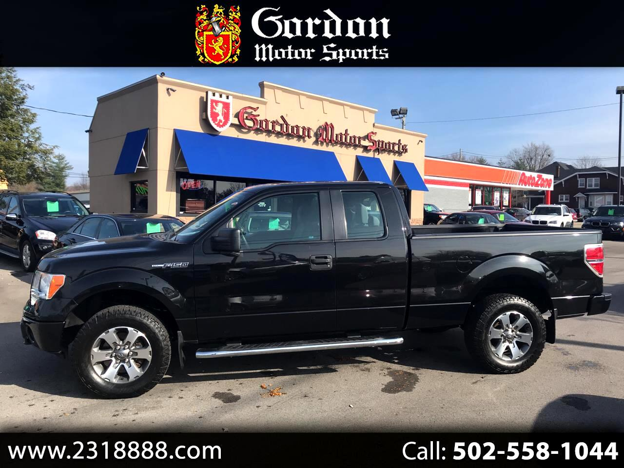 2013 Ford F-150 STX SuperCab 6.5-ft. Bed 4WD