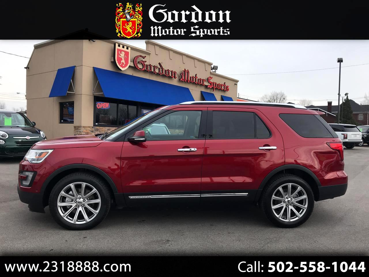 2017 Ford Explorer 4dr 112