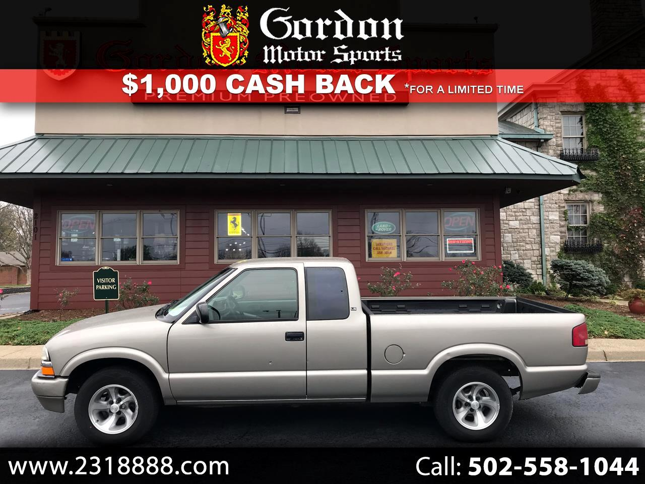 Chevrolet S10 Pickup Ext. Cab 2WD 2000