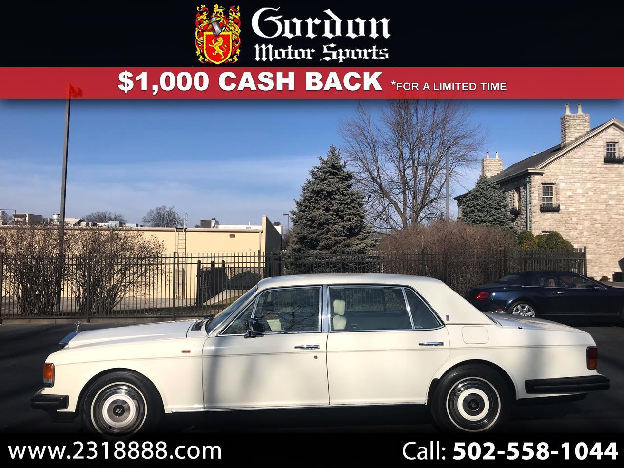Rolls-Royce Silver Spur  1989