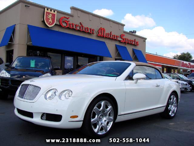 2008 Bentley Continental GTC Convertible    Mulliner Edition