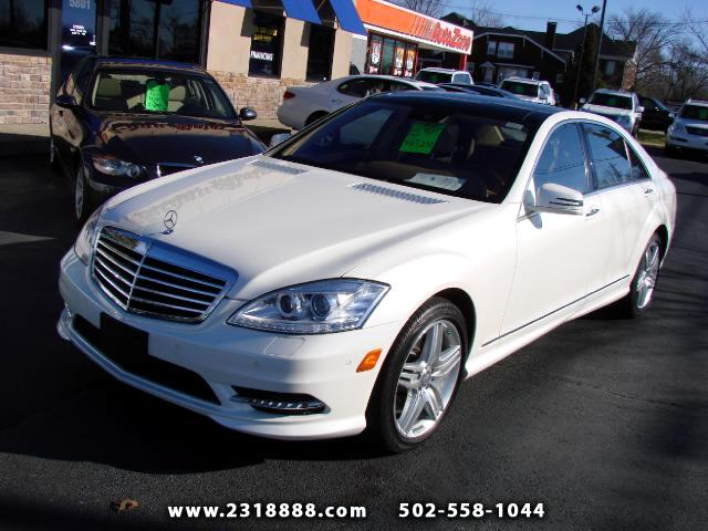 2013 Mercedes-Benz S-Class S550 4-MATIC  PANOROOF